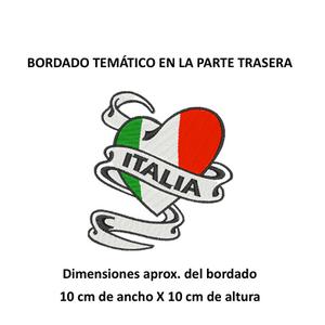 """Diseño: """"Corazón Italiano""""."""