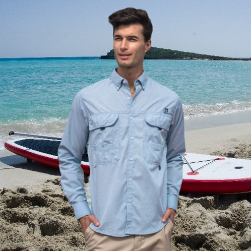 TC Camisa Casual de Pescador Cab.