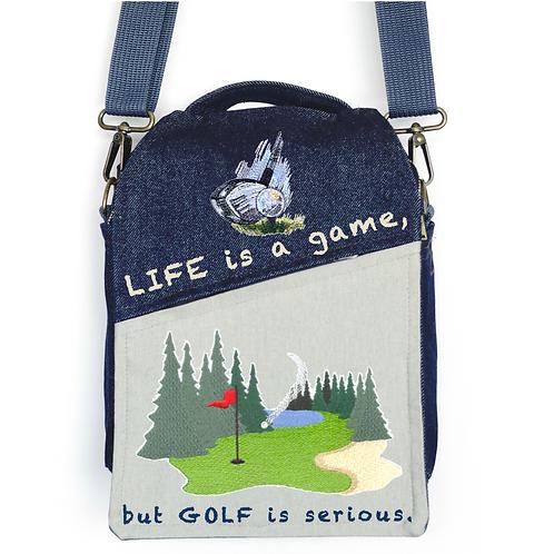 CANVAS MESSENGER BAG Golf