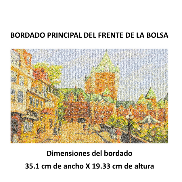 "Diseño: ""Chateau Frontenac""."