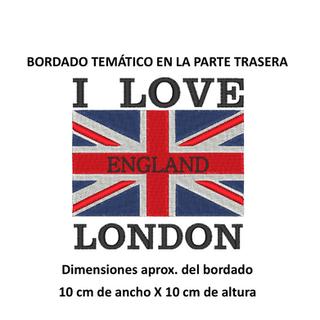 "Diseño: ""I Love London""."