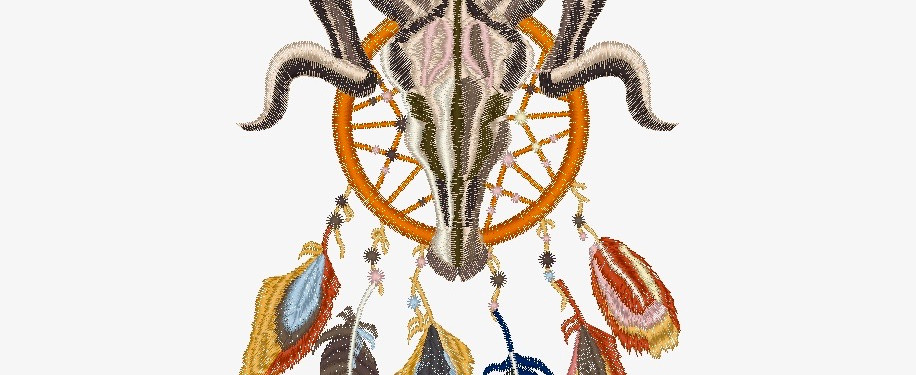 Diseño del Bordado del frente de la playera.
