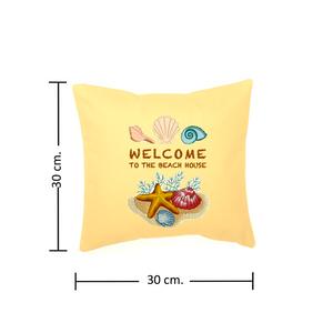 Medidas del Cojin 30 cm. X 30 cm.