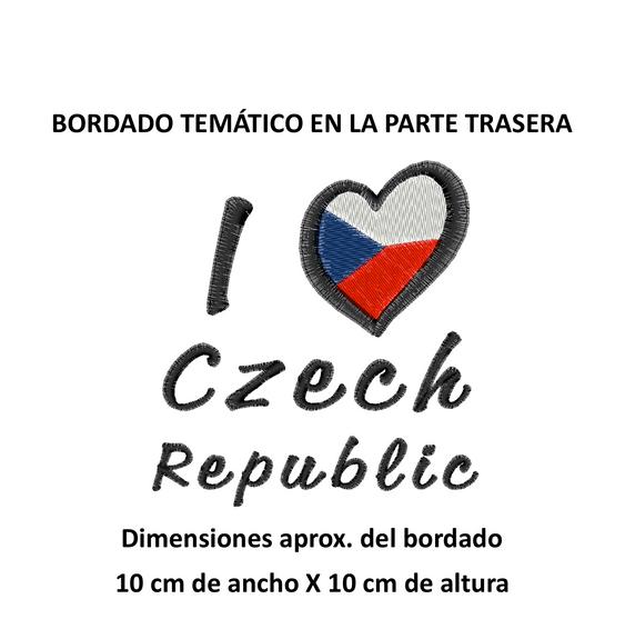 """Diseño: """"I Love Czech Republic""""."""
