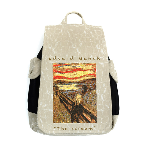 "TISSUS SACK ARTWORK ""The Scream"""