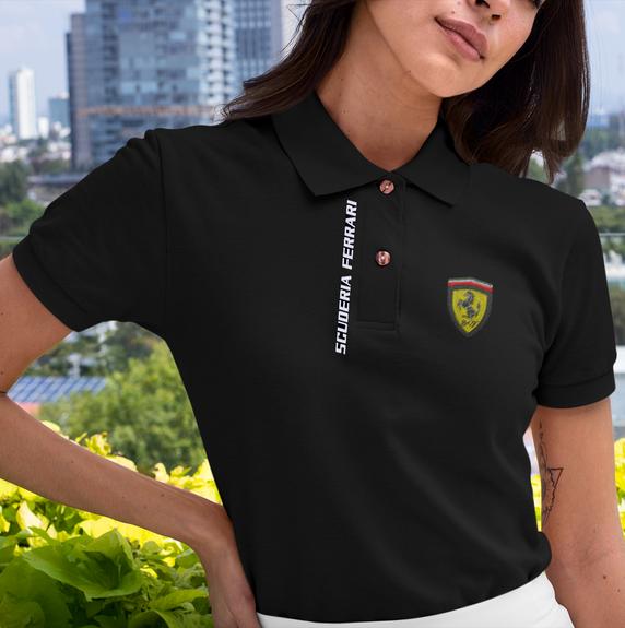 mockup-of-a-woman-wearing-a-polo-shirt-a