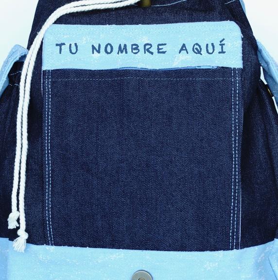 Opción de personalizar tu bolsa.