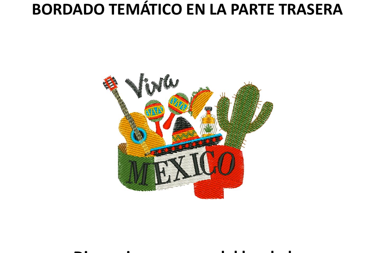 "Diseño: ""Viva México""."