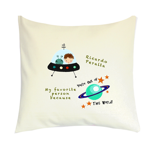 COJINES PERSONALIZADOS Out of this World