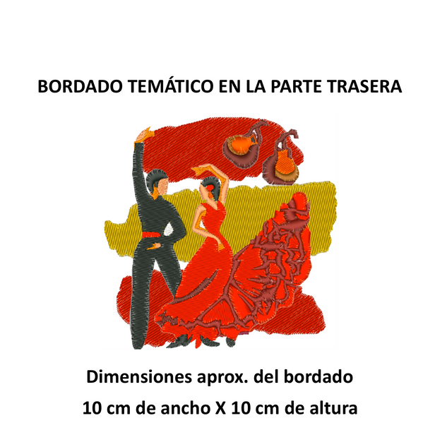 "Diseño: ""Baile Flamenco""."