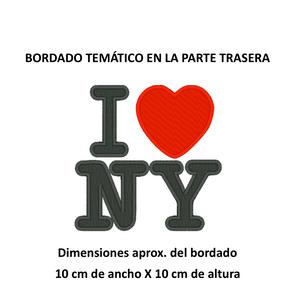 """Diseño: """"I LOVE NY""""."""