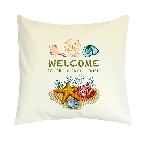 COJINES PERSONALIZADOS Welcome Tot The Beach House