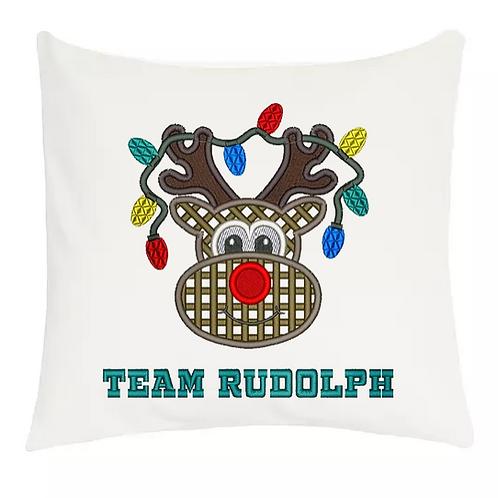 Cojines de Navidad Rudolph