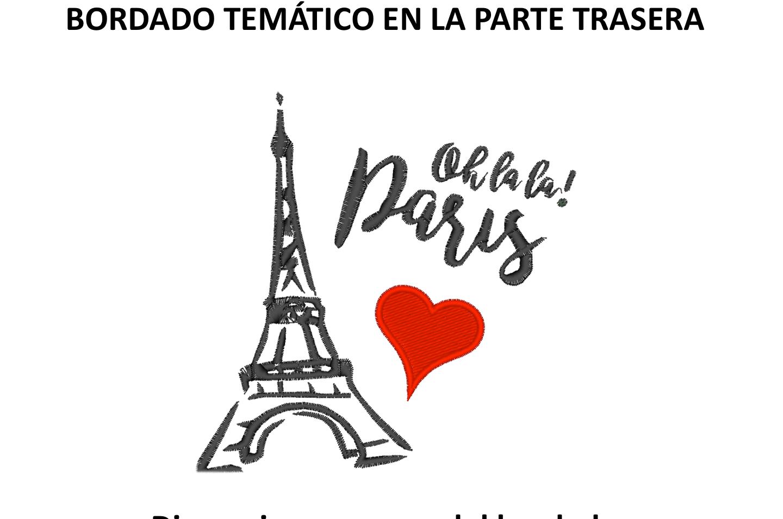 """Diseño: """"Oh la la! Paris""""."""