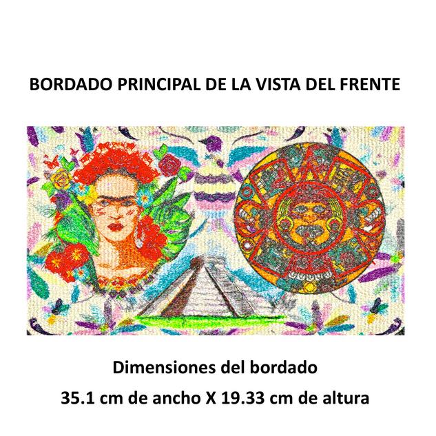"""Diseño: """"Tesoros Mexicanos""""."""