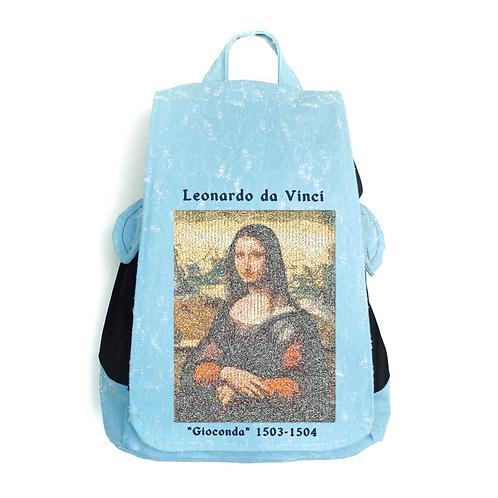 "TISSUS SACK ARTWORK ""Gioconda"" by Leonardo da Vinci"