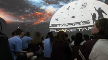 Starr's Planetarium Visit and a Star Gazing Evening.