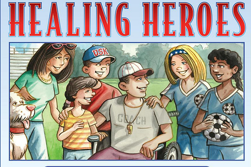 Uncle Sam's Kids: Healing Heroes (Soft Cover)