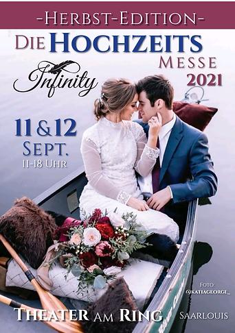 Hochzeitsmesse im Saarland 2021 Infinity