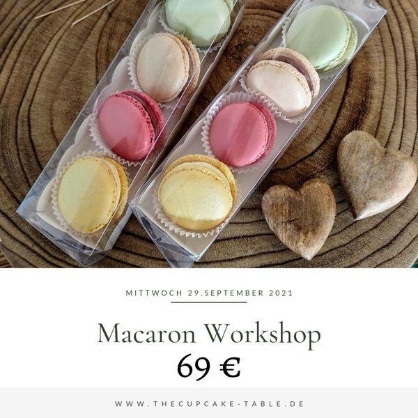 Macaron Workshop    27.10.21 - 17-20 Uhr