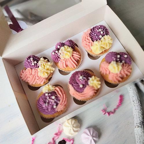 Cupcakes zum Muttertag 6er