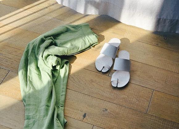 aluna  Highwest Wtuck Linen Pants