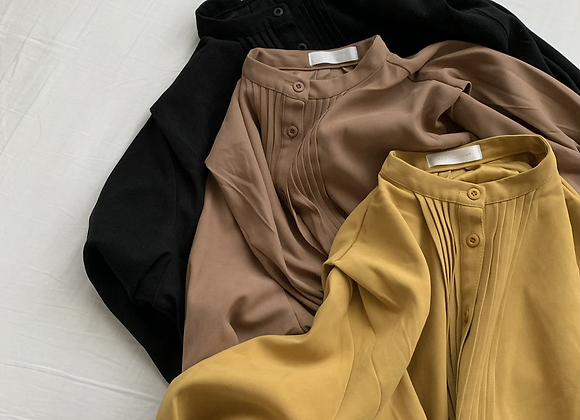 Ecosuede Tuck Longshirts