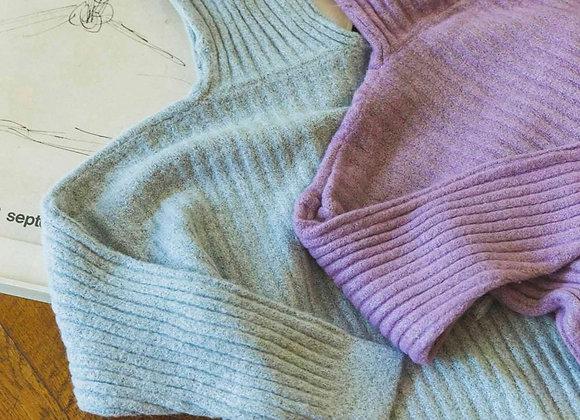 Color Rib Knit