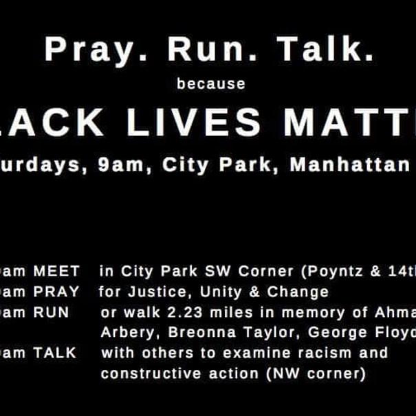 Pray. Run. Talk. (1)