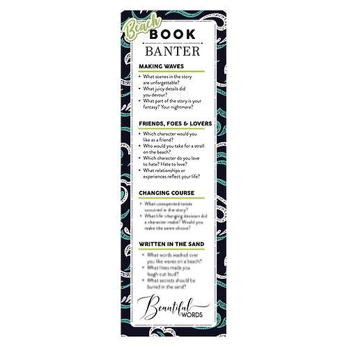 WHOLESALE: Waves Beach Banter Bookmark