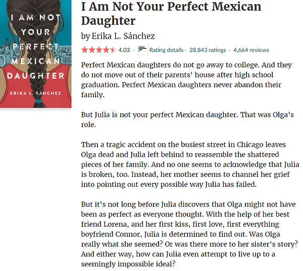 I'm Not Your Perfect Mexican Daughter.pn