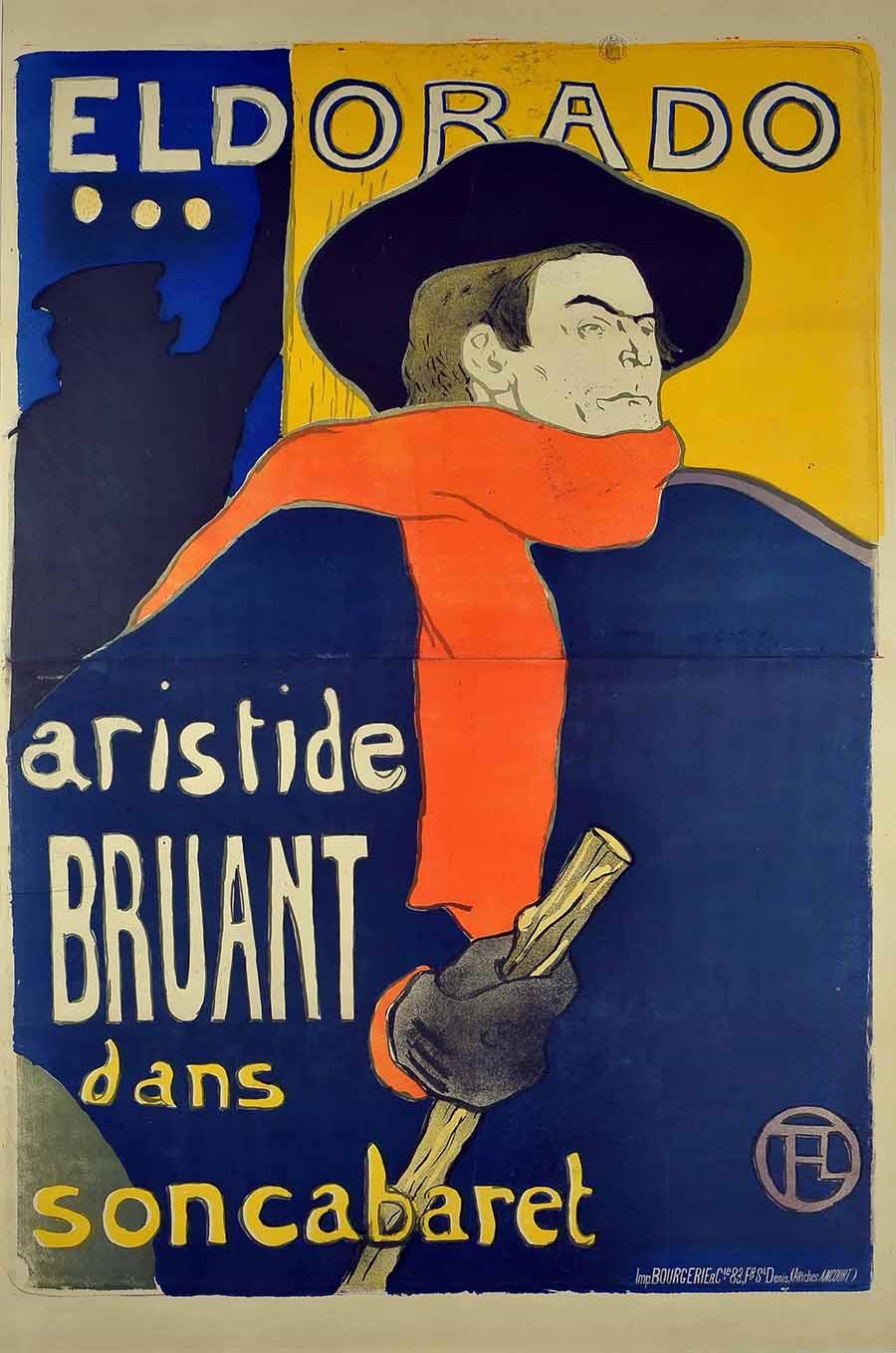 Eldorado... Aristide Bruant dans son