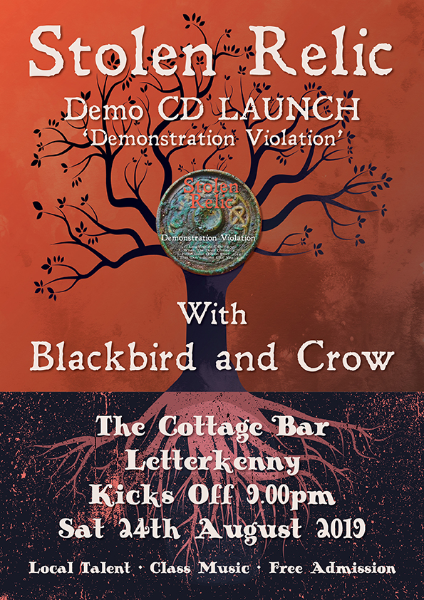 The Cottage Bar CD Launch Poster