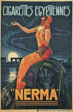 "Cigarettes Egyptiennes ""Nerma""."