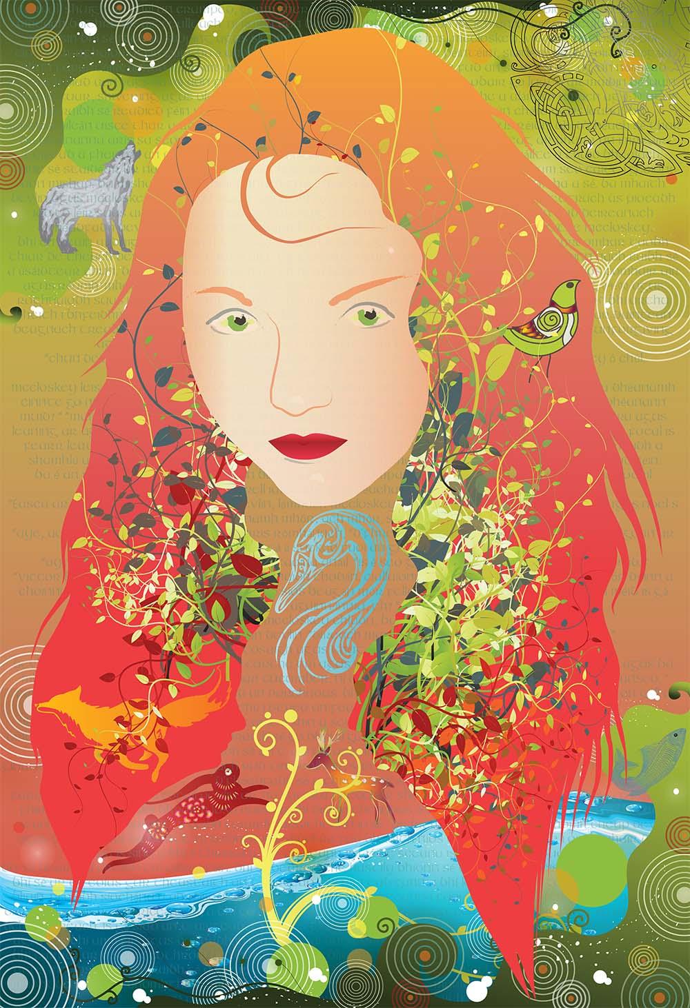 Earagail Arts Festival Illustration