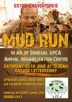 Donegal SPCA Mud Run Poster