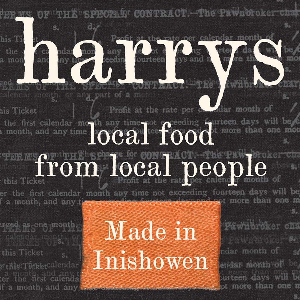 Harrys Restaurant Branding