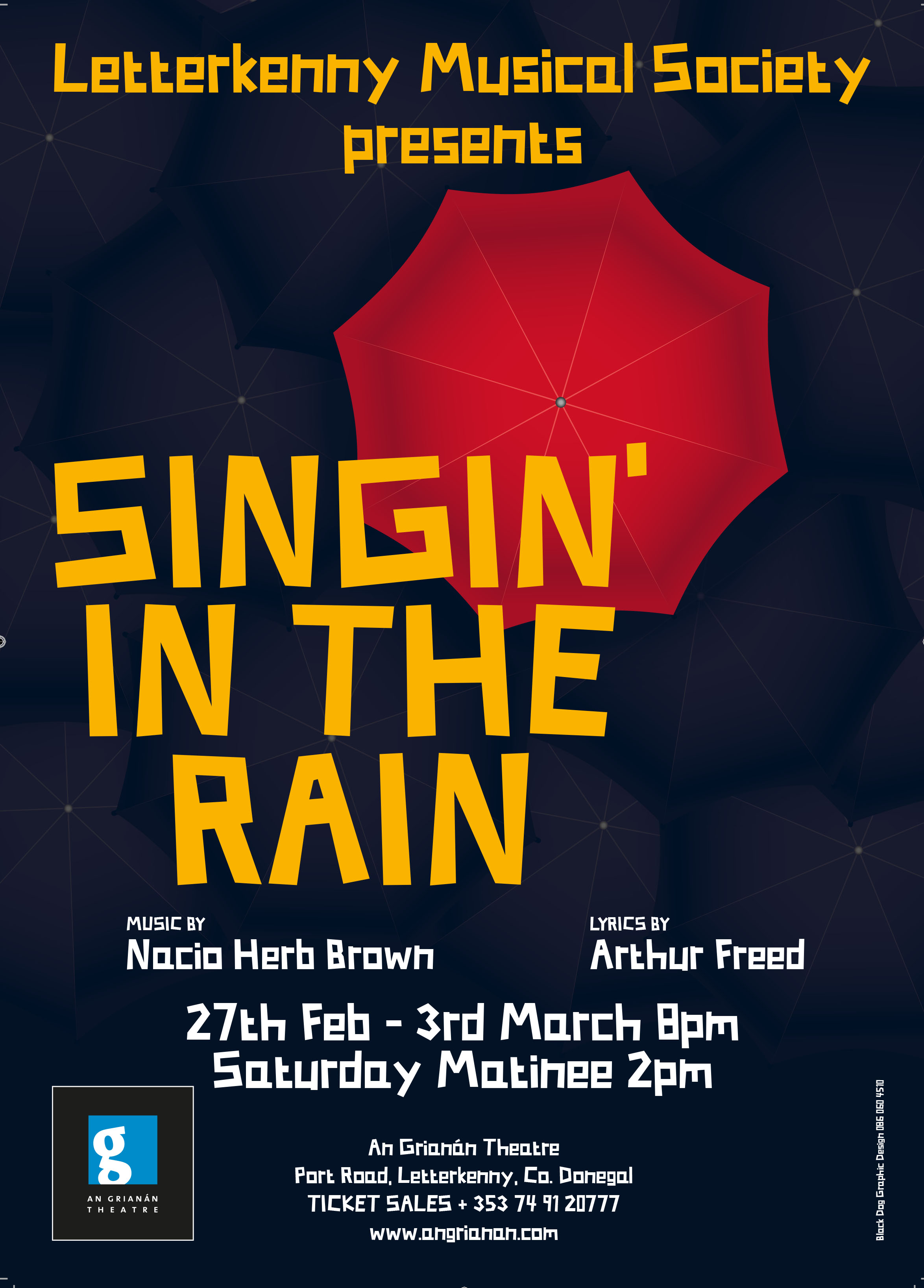 LMS Singin' In The Rain Poster