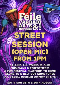 Feile Carraig Festival Flyer