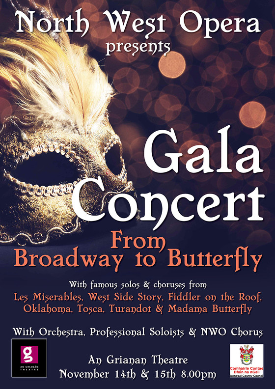 From Broadway to Butterfly - North West Opera's Gala Concert