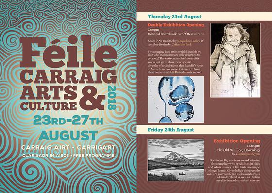 Féile Carraig Arts & Culture Festival 2018 Launch with Double Exhibition Opening