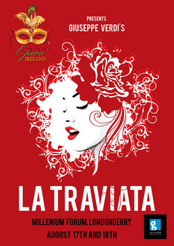 North West Opera La Traviata Poster