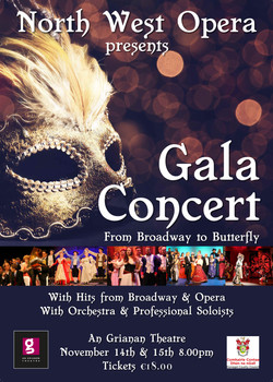 North West Opera Gala Concert Poster