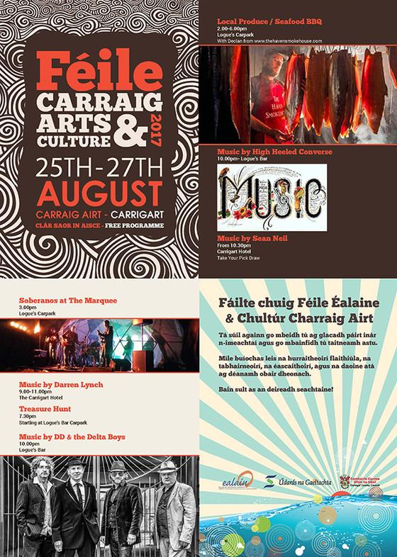 Carraig Airt Festival 2017 Programme