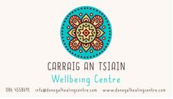 Carraig an Tsiain Logo