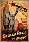 Stolen Relic & Duality - Sandinos, 12th March, 10.00pm