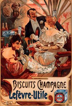 Biscuits Champagne Lefevre Utile
