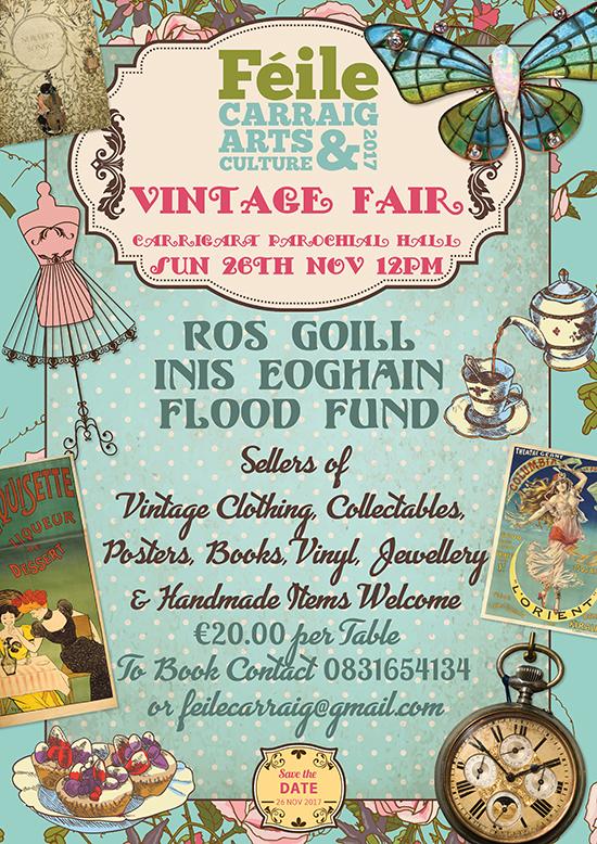 Féile Vintage Fair Poster