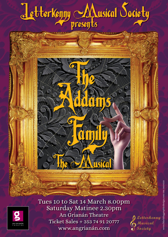 Gothic-Comedy-Musical Festerval as Letterkenny Musical Society Bring The Addams Family Back To Life