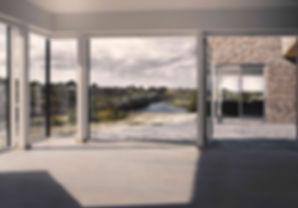 nordisk arkitektur, modern arkitekttegnet, arkitektur i naturen, glasfacade